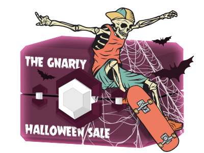 The Gnarly Halloween Sale!