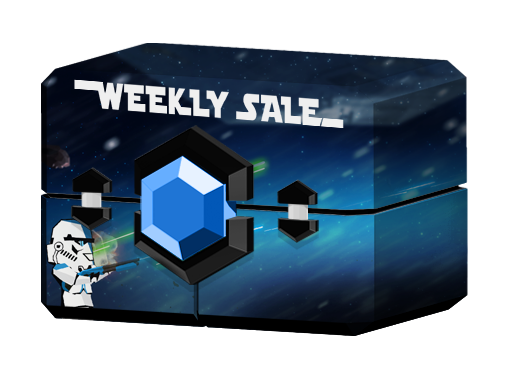 Weeklysale! Best deals in the Galaxy!